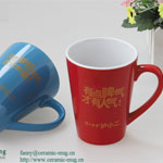 Glazed Ceramic Coffee Mugs with Printing