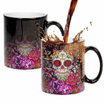 Custom color changing sublimation mugs magic mugs manufacturers