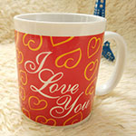Love Logo Ceramic Mugs